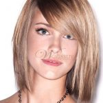 New Bob Hairstyle Cute Short Straight 100% Human Hair Wig 10 Inches