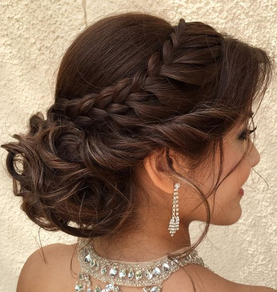Newest Pic braided hairstyle formal Strategies  This braid…customer favorite e…
