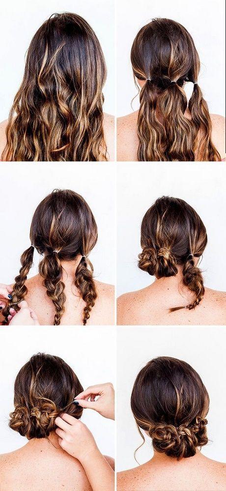 Niedliches und leichtes Haar Hochsteckfrisuren