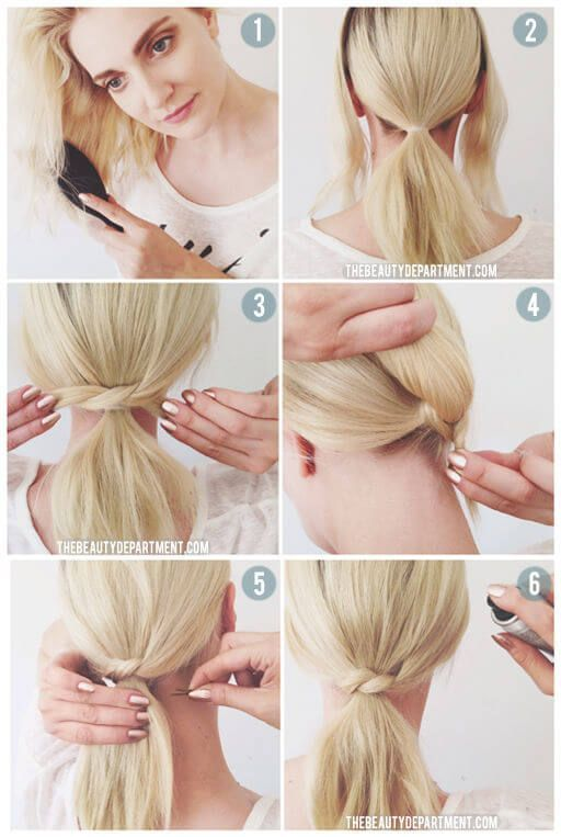 No time – do not worry: DIY hairstyle ideas for the perfect look in no time