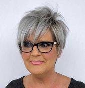 Noble Pixie-Haarschnitte für ältere Frauen BeautyBlog #MakeupOfTheDay #MakeupB…