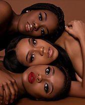 OMG Schwarze Schönheiten Make-up und Frisuren für schwarze Frauen Afroamerikan…