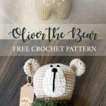 Oliver the Bear Free Amigurumi Crochet Pattern