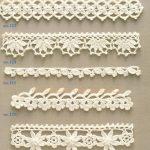 Ondori motif and edging designs