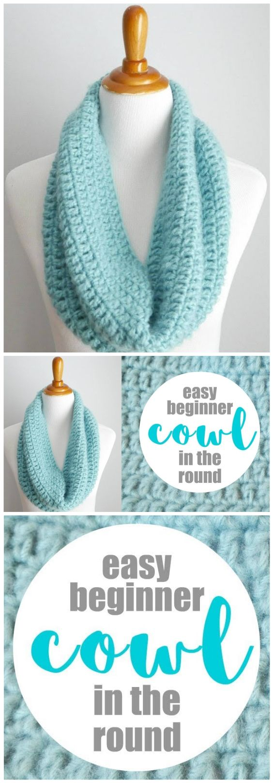 One Hour Cowl Crochet Pattern