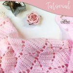 One of the Prettiest Crochet Baby Blanket Patterns - Craft-Mart