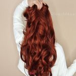PASSION Synthetic Lace Wig True Red Wave Hair