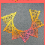PINEAPPLE PLANTATION Crochet Scarf Pattern [Digital File Download]