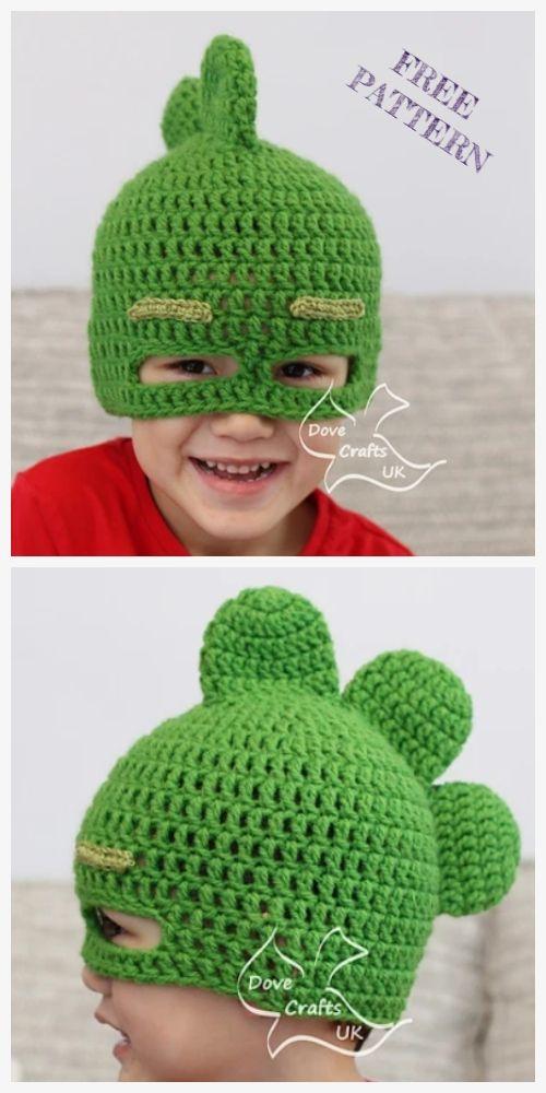 PJ Mask Hat Free Crochet Patterns – DIY Magazine