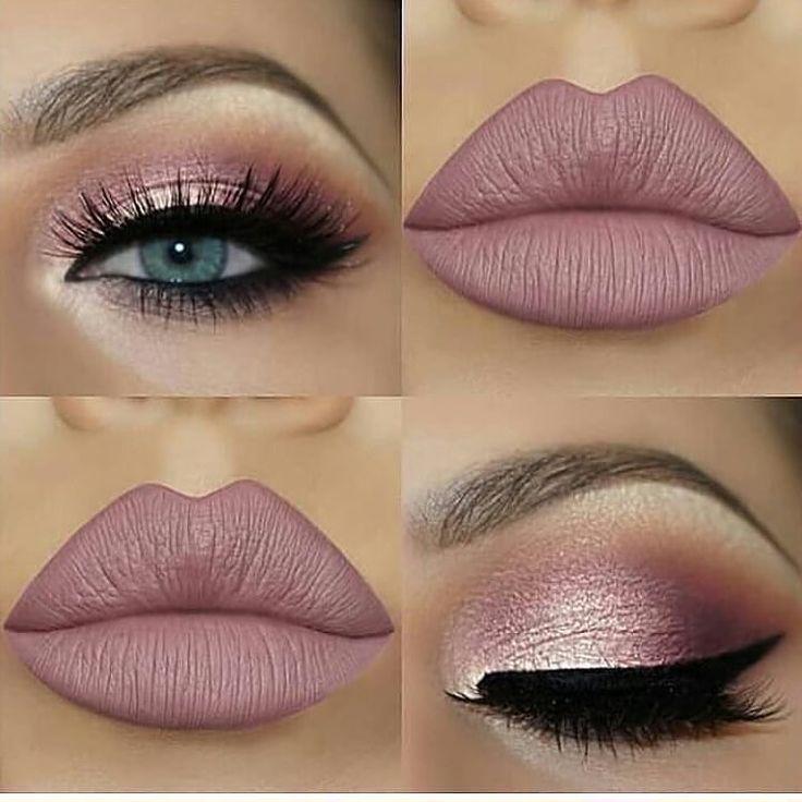Pale pink and nude makeup – Best Makeup