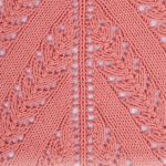 Peach Ballet / DROPS 175-6 - Knitted tunic with lace pattern, worked top down in...