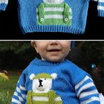 Penguin Sweater to Knit PDF Pattern Instant Download