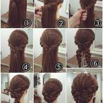 Perfect hairstyle for long hair! Schmeicheld beautiful to a traditional costume ...