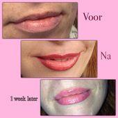 Permanent Make Up Lippen – #abendmakeup #augenmakeup #augenbrauenpermanentmakeup…
