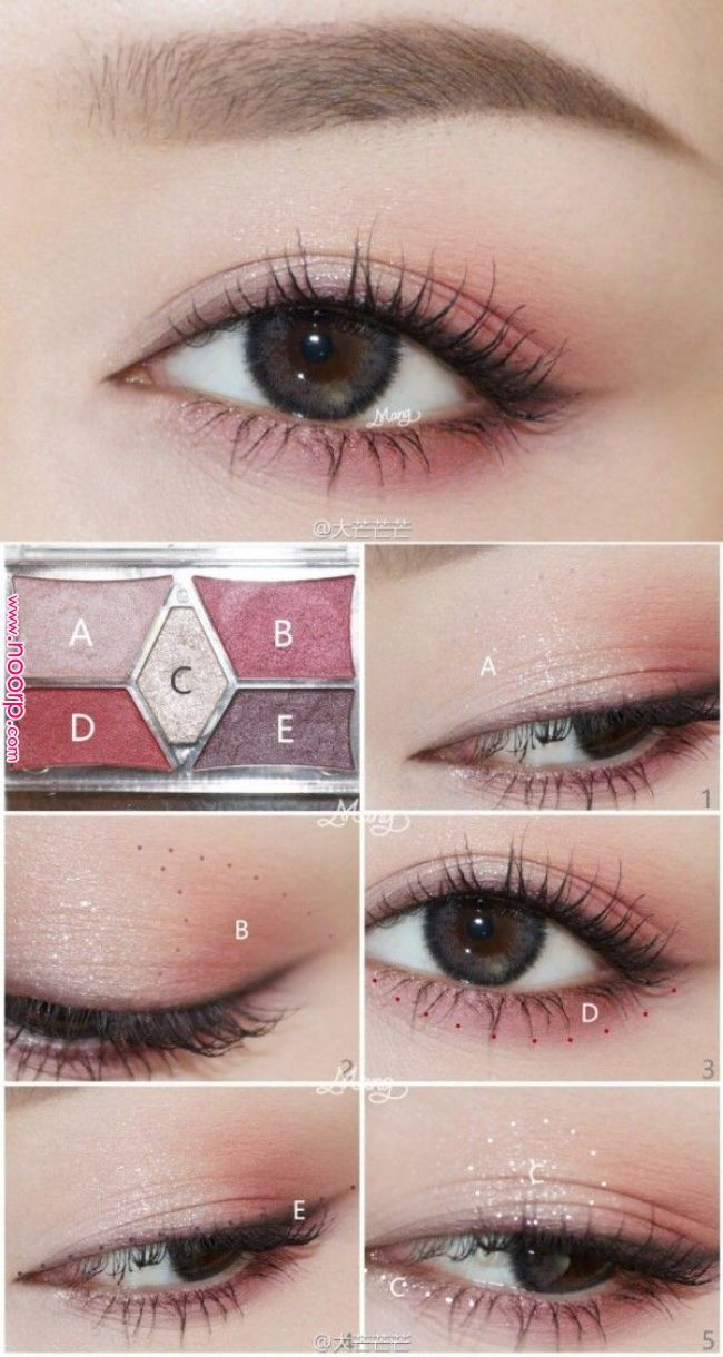 Pinterest: jennisazo | Asian makeup in 2019 | Korean makeup look, Korean eye mak…