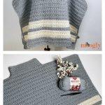 Playoff Poncho Crochet