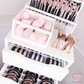 Powder Drawer Organizer (passend für IKEA® Alex Drawer Units) – Makeup Organiz…