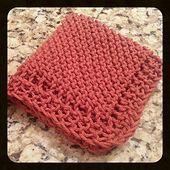 Ravelry: Grandmother's Favorite Neat-Edged Dishcloth pattern by Gina Lynette (fr…