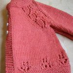 Ravelry: Maile Sweater by Nikki Van De CarCords06's Soft Coral. Knit in one piece from the bottom up