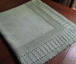 Ravelry: Sleeping Beauty Baby Blanket pattern by Diana Matthews    #Baby #Beauty...