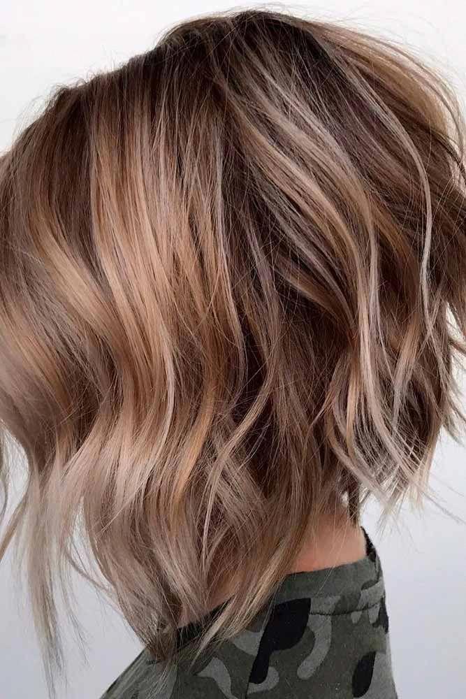 Rebellious Curls #choppybobhairstyles