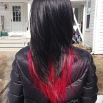 Red And Black Hairstyles - The Latest Color Trend That We're In Love With!