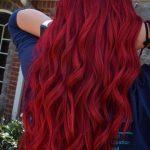 Red Hair Crimson Red Vibrant Bright Fun Hair Color Guy Tang Mydentity Olaplex In...