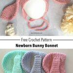 Ribbed Bunny Bonnet - Free Crochet Pattern