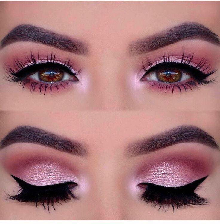 Rosa Augen Makeup #augen #makeup