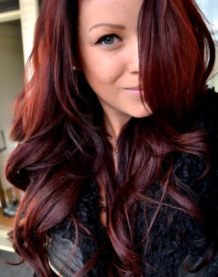 Rote Haarfarbe Für dunkles Haar