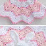 Round Ripple Bunny Lovey Crochet Free Pattern