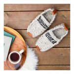 Saturday Slippers Crochet pattern by Jess Coppom Make & Do Crew