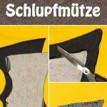 Schlupfmütze nähen - Anleitung und Schnittmuster für eine Schalmütze