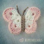 Schmetterlinge häkeln *Kostenlose Häkel-Anleitung* #häkeln #schmetterling #de...