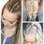 Schnelle Frisuren für langes, dichtes Haar  #dichtes #frisuren #langes #schnell...