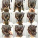 Schnelle und einfache Frisuren für lange, dicke Haare,  #dicke #einfache #Frisuren #für #Haar...