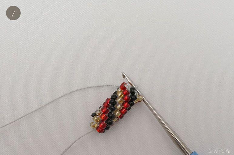 Schritt-für-Schritt Anleitung zum Perlenhäkeln mit vielen Fotos. Ich zeige dir…