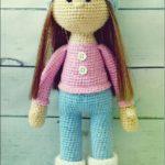 Schritt für Schritt Puppe stricken