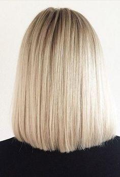 Schulterlange Haarrückansicht – Neu Haare Frisuren 2018
