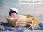 Sea Captain Marine Baby Boy Crochet Hat and Photography Prop All Sizes from Newb...