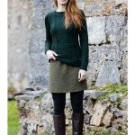 Shandon Ladies Cable Knit Sweater