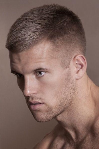 Short hair cut for men