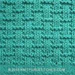 Simple Basketweave knitting pattern. Its great beginners knitting practice. #sim...