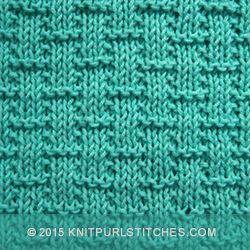 Simple Basketweave knitting pattern. Its great beginners knitting practice. #sim…