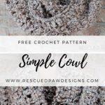 Simple Crochet Scarf Pattern for Beginners