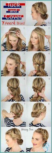 Simple Diy Hairstyles for Medium Length Hair  Latest Hairstyles 2018   Ladies Fr…