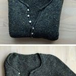 Simple Quick Easy Knit Pullover Sweater - Free Pattern
