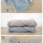 Simply knit baby kimono cardigan free pattern :  Easy Knitting Baby Kimono Cardi...
