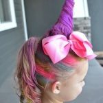 So cool! How to make a unique unicorn look for Wacky Hair Day ... or any other d...