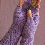 Socken und fingerlose Handschuhe Glöckchen pattern by Ekaterina Arndt